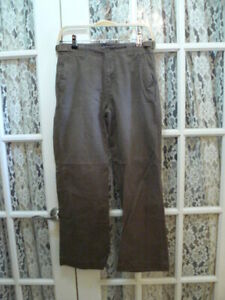 POLO-RALPH-LAUREN-BOYS-SIZE-16-28-BROWN-JEANS-28-5-034-INSEAM-CLASSIC-CHINOS