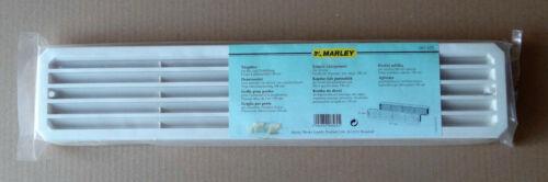 weiß Marley Türgitter Türlüftungsgitter 452 x 92 mm