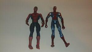 2002-03-Spider-Man-Marvel-Legends-Universe-Classic-Spiderman-6-034-Figur-Metallic