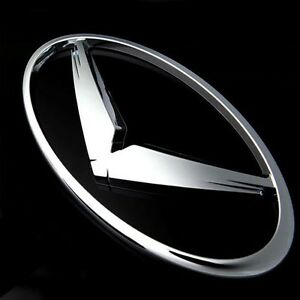 Front V Logo Tuning Emblem 169mm For 2011 2012 2013 2014 Hyundai