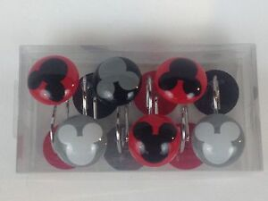 ... NEW Mickey Mouse Clubhouse Chevron Shower Curtain Hooks