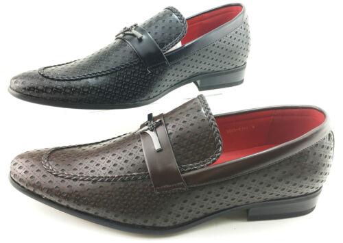 Homme richelieu à bureau casual cuir jazz naissain fête chaussure noir marron 7-11 8J-1