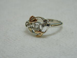 Clogau-Silver-amp-Welsh-Gold-Origin-Ring-size-M-RRP-99-00