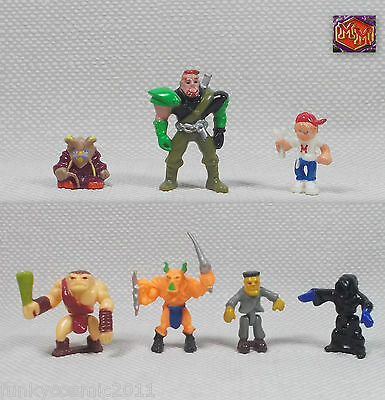 Mighty Max - Heroes & Villains - Figure Collection # 3 - Bluebird Toys 1994 1