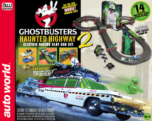 Auto Le Monde Srs317 Ghostbusters Haunted Route 2 Echelle Ho Circuit Routier