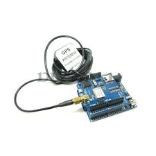 GPS Shield Based on RoyalTek REB-4216 + GPS Antenna 3M Length for Arduino Mega