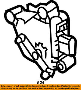 ford oem engine actuator 3l3z9b742a ebay 1955 Ford Engine image is loading ford oem engine actuator 3l3z9b742a