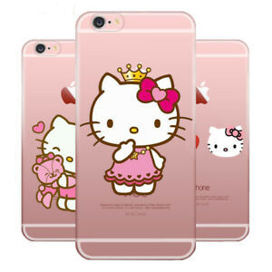 sports shoes beaa8 a600b Details about Hello Kitty Phone Case Soft TPU Case Cover For Apple iPhone  Samsung and Huawei