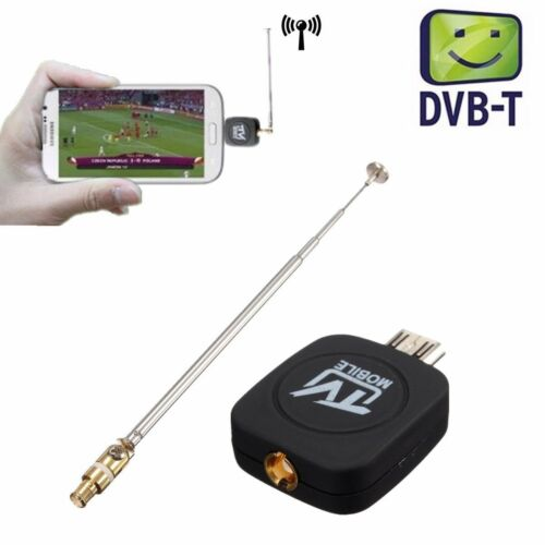 Micro USB DVB-T Digital Mobile TV Tuner Receiver+Antenna for Android 4.0-6.0 HV