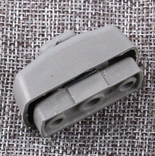 1x For VW JETTA 1999-2014 PASSAT Interior Sun Visor Clip Hook Bracket Gray