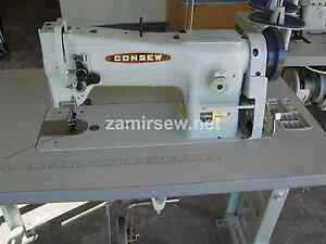 Consew 206rb5 Industrial Sewing Machine Walking Foot With 3 4 Hp Servo Motor Ebay