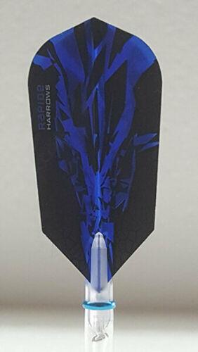Harrows Rapide X Blue Slim Dart Flights