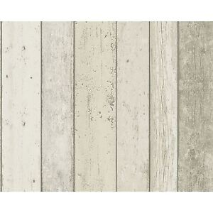 New England Wood Effect Wallpaper