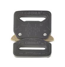 AustriAlpin 25mm//2.5cm Noir Cobra Boucle Mâle Réglable Femelle Fixe FC25KVF