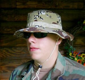 d9e912b5cc556 Image is loading Fishing-Hunting-Desert-Camo-Boonie-Hat-Jungle-Type-