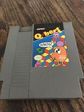 Qbert (Nintendo Entertainment System, 1989) NES Cart NE3