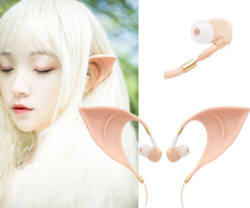Elf Elfen Ear IN-EAR Ohr Kopfhörer headset Cosplay costume Ferid Bathory Vampire