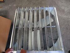 Dayton Utility Shutter Mounted Exhaust Fan 36 Fan Dia Model 484x50 New