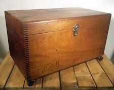 Único hacen Vintage Retro Rústico Industrial Caja ocasionales lado Mesa de café