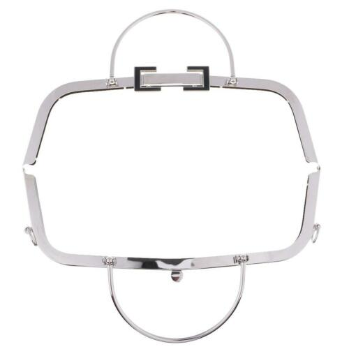 30cm Metall Taschenrahmen Taschenbügel Schliesse Kuss-Verschluss DIY für