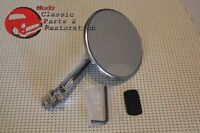 Hot Rat Street Rod Custom Vintage 4 Peep Mirror Sraight Arm Free Shipping