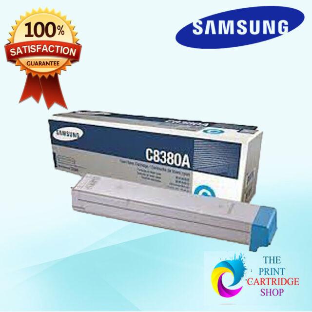 New & Original Samsung CLX-C8380A Cyan Toner Cartridge MultiXpress CLX8380ND 15K