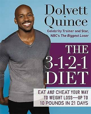 1 of 1 - The 3-1-2-1 Diet: Eat and Cheat Your Way to Weight Loss--up to 10-ExLibrary