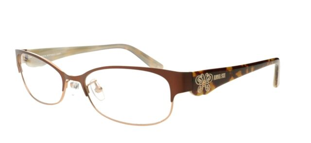 Anna Sui as 180 125 Glasses Spectacles RX Optical Frames Case Cloth ...