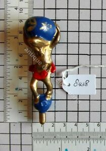 Solid Brass Atlas Statue For Zaandam Clock Or Friesian Or