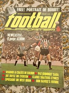 FOOTBALL-SUPPORTER-JAN-1970-EXCELLENT-COND-uncut-super-strikers