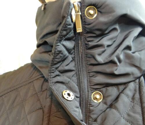 idrorepellente York con Jones taglia nero trapuntato Walker Nwt Xs New cappuccio Cappotto 78Oqxg