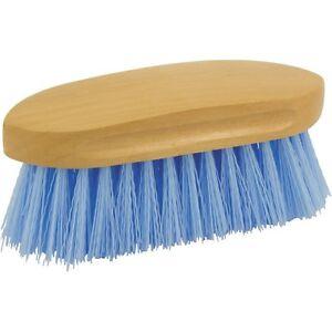 Eldorado-Cepillo-de-Melena-Azul-Claro-Caballos-Utillaje-Limpieza-Cuidado