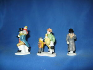 Christmas Carol Characters.Details About Dept 56 Christmas Carol Characters Heritage Village Dickens 6501 3 Nos