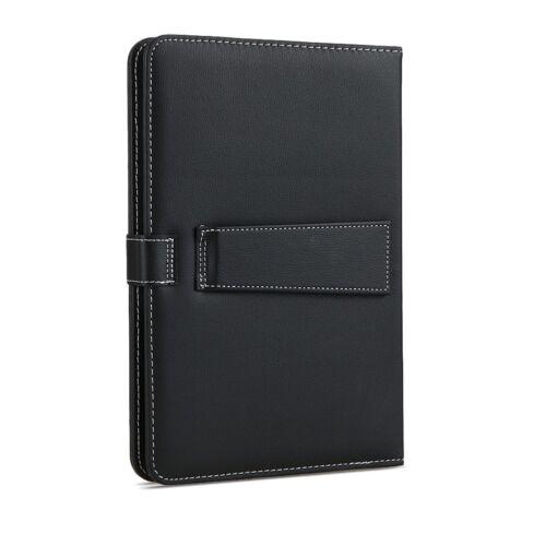 Nauc Tablet bolsa teclado USB QWERTZ Keyboard funda tablet protección Cover Case