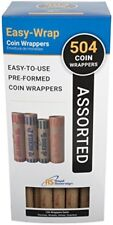 Royal Sovereign Assorted Coin Preformed Wrappers 504 Count