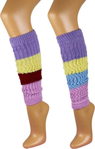 1 Paar Damen Stulpen Legwarmer bunte Strümpfe Socken Damenstulpen Top A.332
