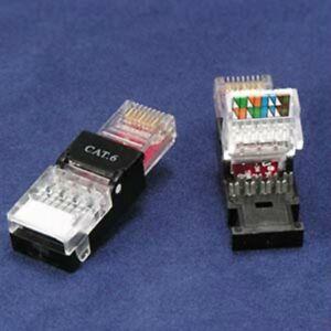 4x-Cat6-LAN-Network-Internet-Modular-Toolless-Cat-6-UTP-RJ45-Plug-Connector-Jack