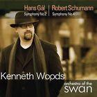 Hans Gl: Symphony No. 2; Robert Schumann: Symphony No. 4 (CD, Apr-2013, Avie)