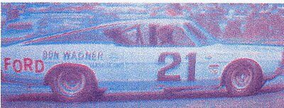 #00 Ronnie Chumley Vita-Fresh Ford Torino 1//64th HO Scale Slot Car Decals