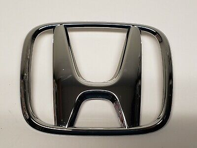 Honda Fit Chrome Plastic Grille Emblem 75700-TA0-A000