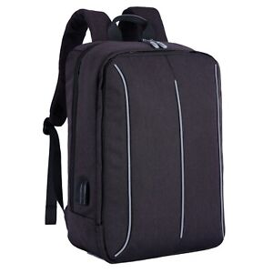 Casual-Backpack-17-Inches-Laptop-Bag-Business-School-Rucksack-For-Women-amp-Men