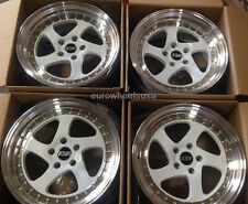 "17"" ESR SR02 White Wheels For BMW E36 E46 323i 325i 328i 330i 17X8.5 +30 5x120"