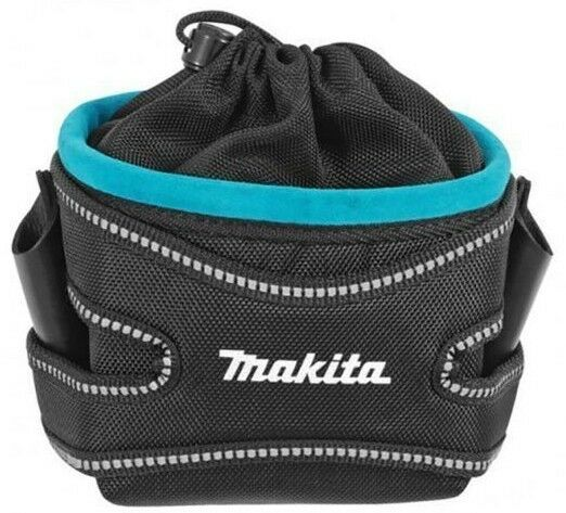 Makita DRAWSTRING FIXINGS POUCH Extra Leather Layer Japanese Brand