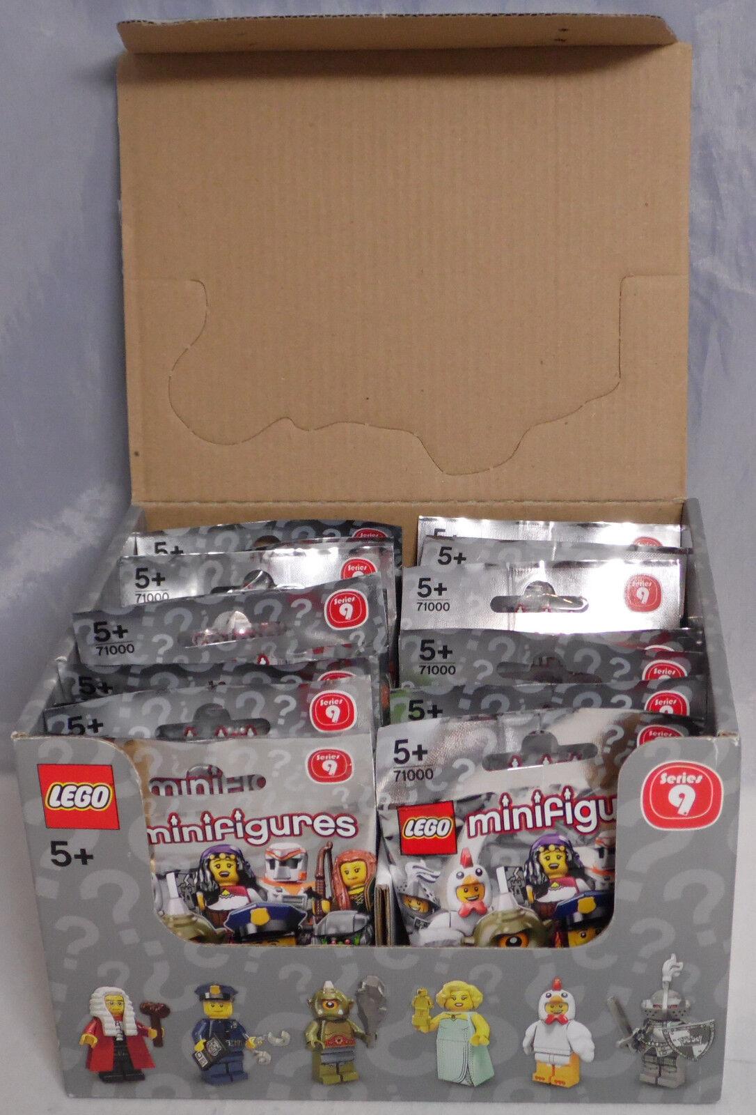 LEGO 71000 71000 71000 Minifiguren Serie 9, 1 kompletter Satz = 16 Figuren im Display NEU 9bf605