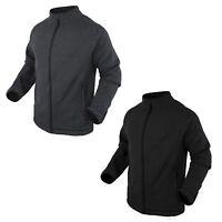 Condor 101050 Matterhorn Winter Fleece Lightweight Jacket Graphite Black S-2xl