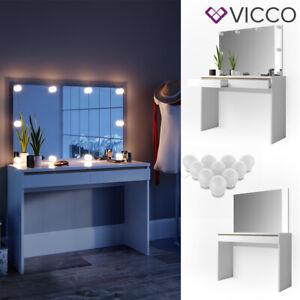Vicco-Table-de-maquillage-Emma-commode-de-coiffeuse-miroir-LED-blanc-sonoma
