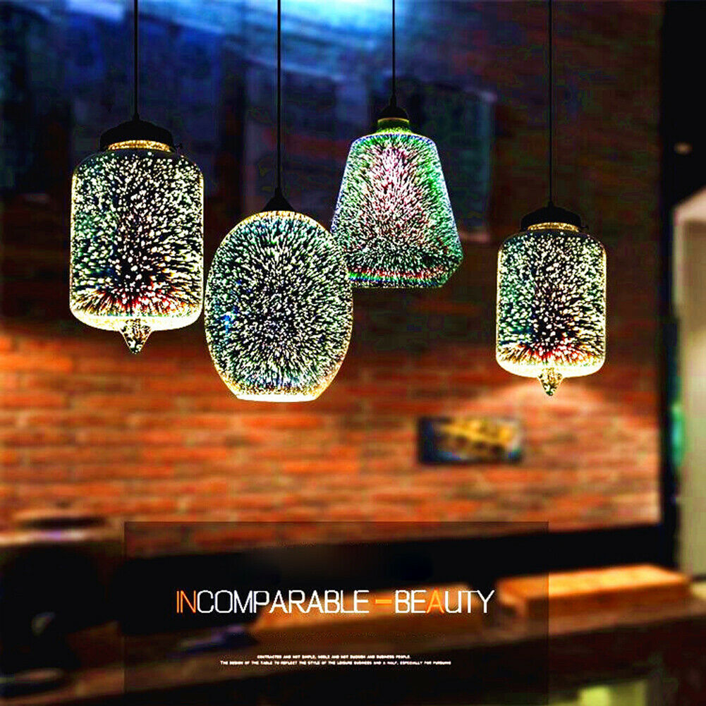 Modern creative Glass ice Cube Bar Counter chandelier