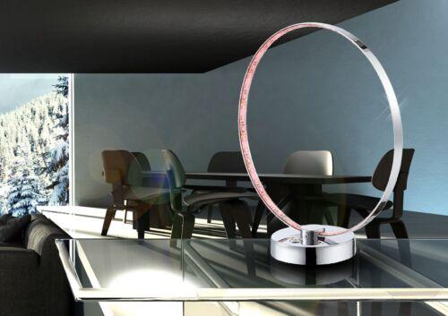 1 von 1 - LED Tischleuchte Farbwechsel Globo 28001 Bague 12 W Lampen-Ring Leselicht Deko
