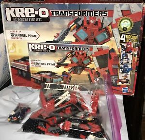 TRANSFORMERS-KRE-O-SENTINEL-PRIME-30687-4-KREONS-For-Parts-Only-Not-Complete