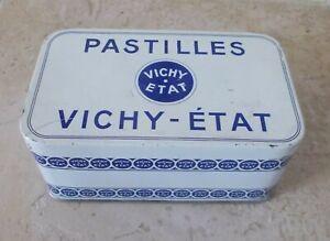 Boite-metal-PASTILLES-VICHY-ETAT-Ancienne-bonbons-digestion-pharmacie-3